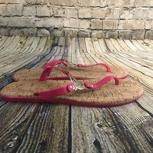 Michael Kors Women's Pink Jelly Sandals Size 10